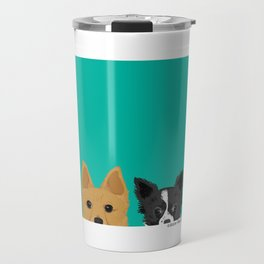Pippen & Sooty - Teal Travel Mug