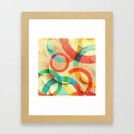 Huller om buller Framed Art Print