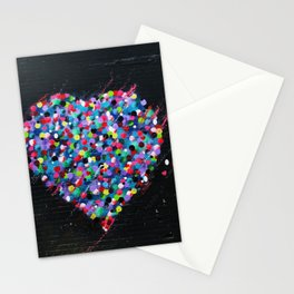 Hearts Murales Stationery Cards