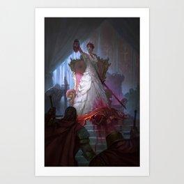 The Murder Queen Art Print