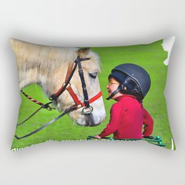 Riding for the Disabled Association Rectangular Pillow