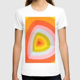 Rainbow Abstract Art T-shirt