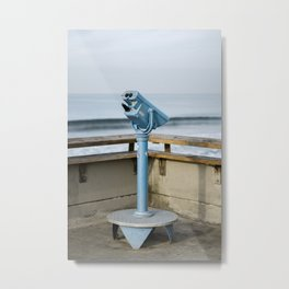 Venice Beach Pier Photography Metal Print