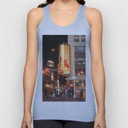 Hard Rock Cafe New York Painted Photorealism Unisex Tank Top