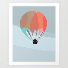 Flying Happy Dust Art Print