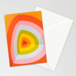 Multi Colour Corner Wall Art Stationery Cards