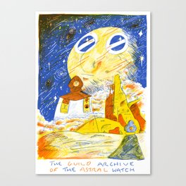 The Guild Archive of the Astral Watch Canvas Print