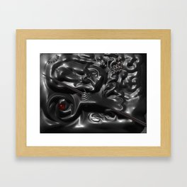 The Penetraiting Matter Framed Art Print