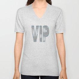 VIP Silver Unisex V-Neck