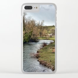 River Wye at Bakewell Clear iPhone Case