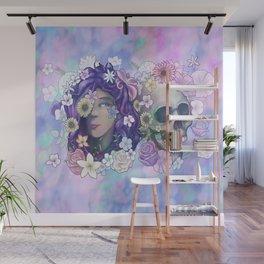 Flower Skull 2019 Wall Mural