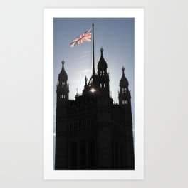 Good Morning, London Art Print