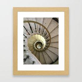 Vizcaya Spiral Staircase in Miami Framed Art Print