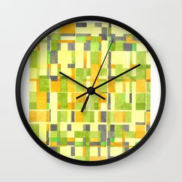 color field_01 Wall Clock