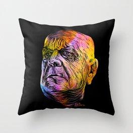 Rainbow Sibelius Throw Pillow