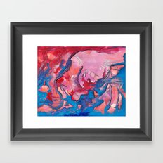 Spreading Joy Framed Art Print
