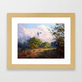 Evening at the Ranch Framed Art Print
