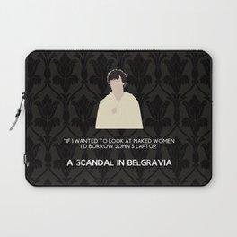 A Scandal in Belgravia - Sherlock Holmes Laptop Sleeve