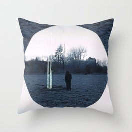 SFT lines Throw Pillow