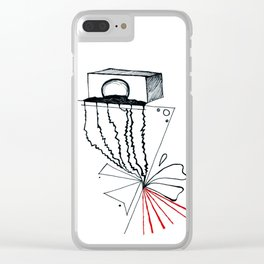 Sound vibrance Clear iPhone Case