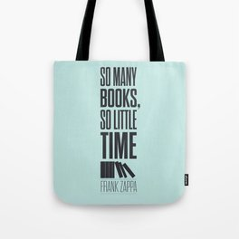 Lab No. 4 - Frank Zappa Quote Typography Print Poster Tote Bag