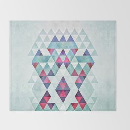 crwwn hym Throw Blanket
