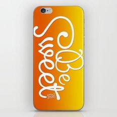 Be Sweet Shit Bag iPhone & iPod Skin