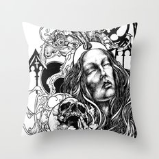 Night Overture Throw Pillow