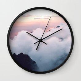 Pink wonder Wall Clock