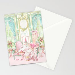 Marie Antoinette, Palace of Versailles, Diorama Stationery Cards