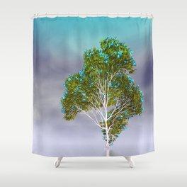strange light somewhere -18- Shower Curtain