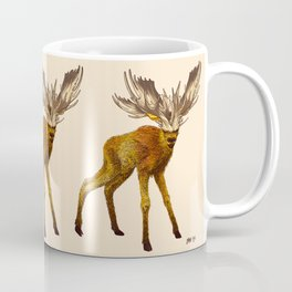 Babes in Woodland (Moose calf) Coffee Mug