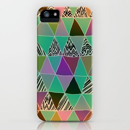 Triangle 3 iPhone Case