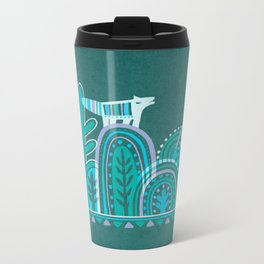 In Forest Metal Travel Mug