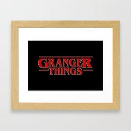 Granger Things ! Framed Art Print