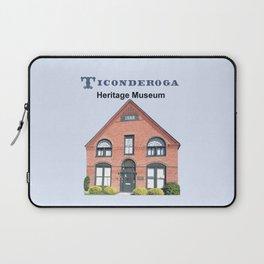 Ticonderoga Heritage Museum (front) Laptop Sleeve