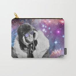 People of the Universe-Space Glasses-Purple Carry-All Pouch