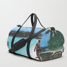 Day at the Beach Duffle Bag