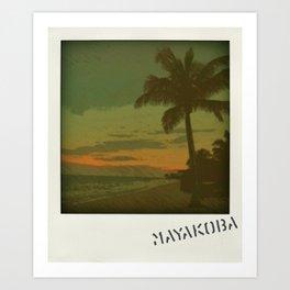 Mayakoba Art Print