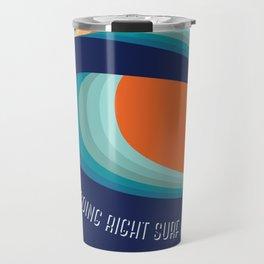 Surf a left Travel Mug