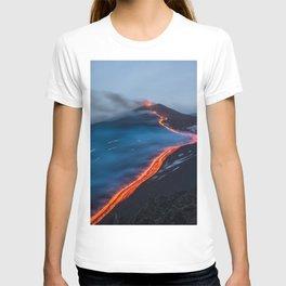 WHEN THE BEACH TURNS RED T-shirt