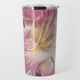 Bearded Daylily Travel Mug