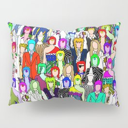 Heroes Punks in Tokyo Pillow Sham