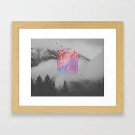 SILKY Framed Art Print