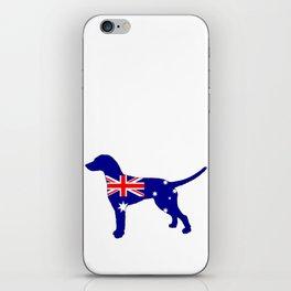 Australian Flag - Dalmatian iPhone Skin