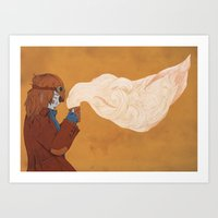 steam punk Art Prints featuring 'Steam' Punk by Georgi Taylor Wills
