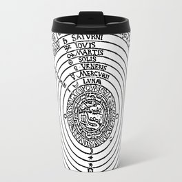 Celestial Orbs in the Latin Middle Ages Travel Mug