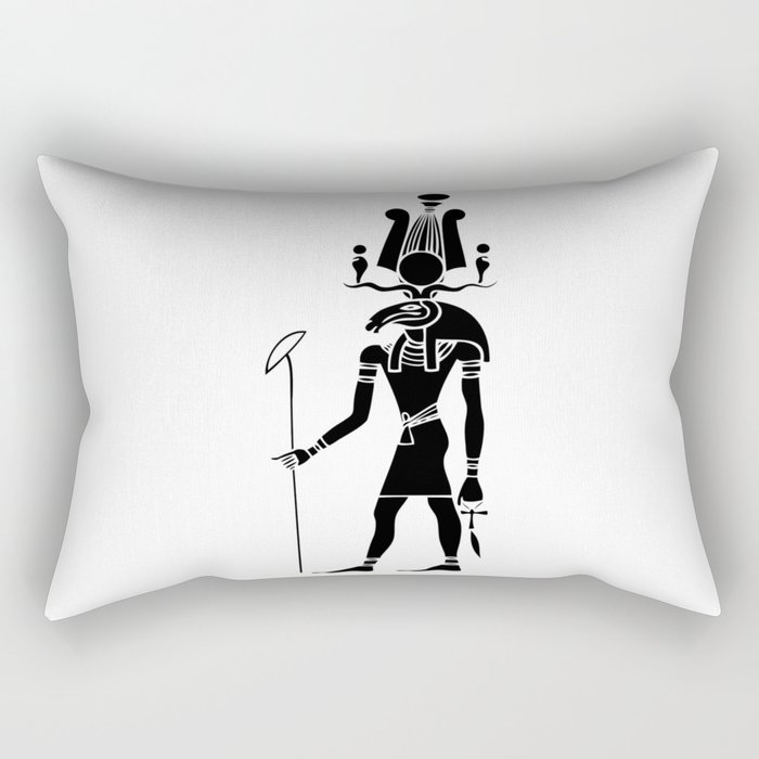 Khensu - God of ancient Egypt Rectangular Pillow