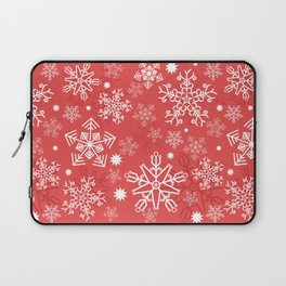Christmas Snowflakes Laptop Sleeve