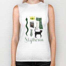 The House of Slytherin Biker Tank